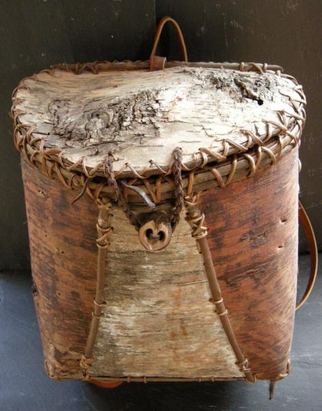 Next Artist Mark Catman Birch Bark Basket Maker