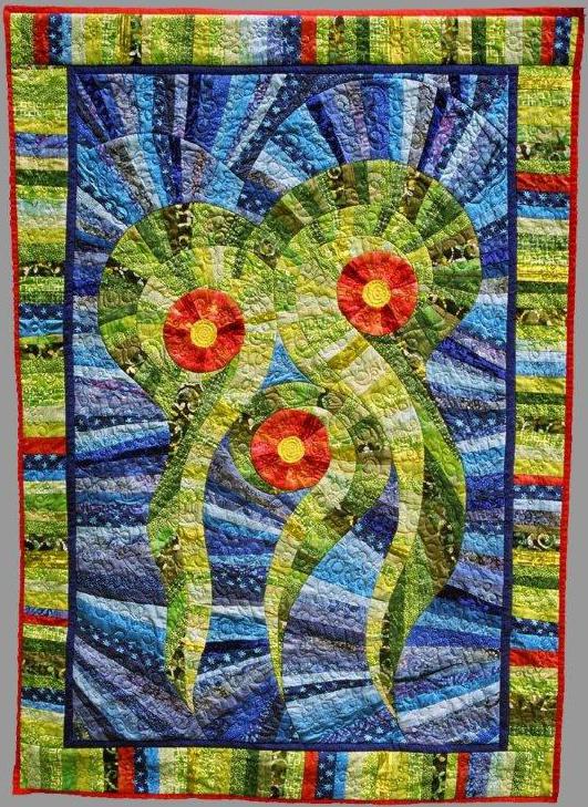 Pawlet vermont fiber artist ellen howard because art for Quilt and craft show